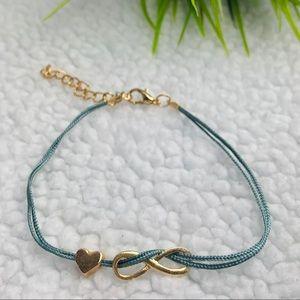infinite love adjustable bracelet